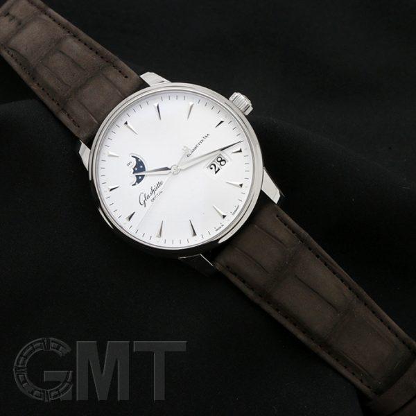 ドイツ時計の魅力が詰まった一本グラスヒュッテオリジナル セネタ エクセレンス パノ ラマデイト ムーンフェーズ 1-36-04-05-02-31