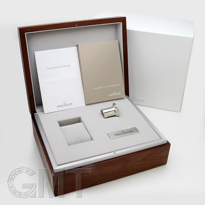 JAEGER LECOULTRE ジャガー・ルクルト デュオメトル クロノグラフ ピンクゴールド Q6012420