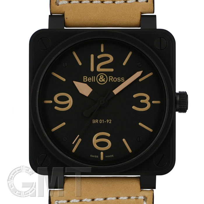 BELL&ROSS BR01-92 HERITAGE PVD 46mm