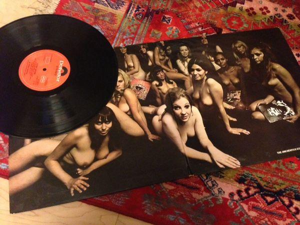 """Jimi Hendrix  """" ELECTRIC LADYLAND """"  UK ORIGINAL VINAL 1968年製"""