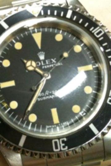 Rolex  Submariner  Ref.5513 1974年