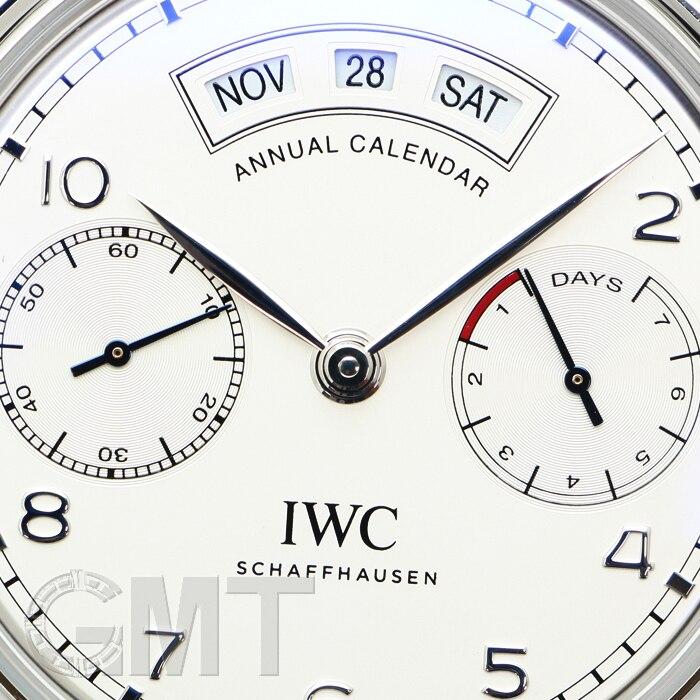 IWC ポルトギーゼ アニュアルカレンダー IW503501