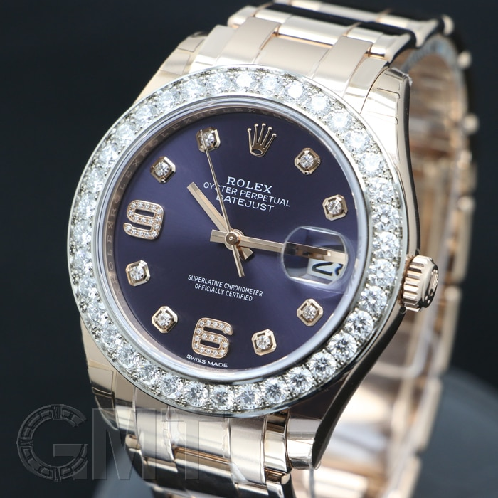 detailing c8e33 25061 ロレックス パールマスター 39 86285 オーベルジーヌ | 時計専門 ...