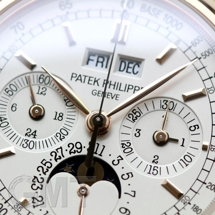 パテック・フィリップ グランド コンプリケーション 永久カレンダー クロノグラフ 5970R-001