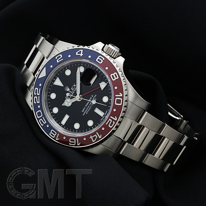 ロレックス GMTマスター II 116719BLRO