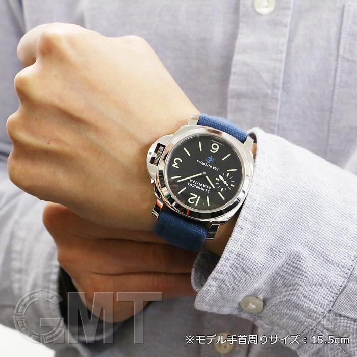 new style 6c857 7c08b パネライ 2018年新作 ルミノールマリーナ ロゴPAM00777 | 時計 ...