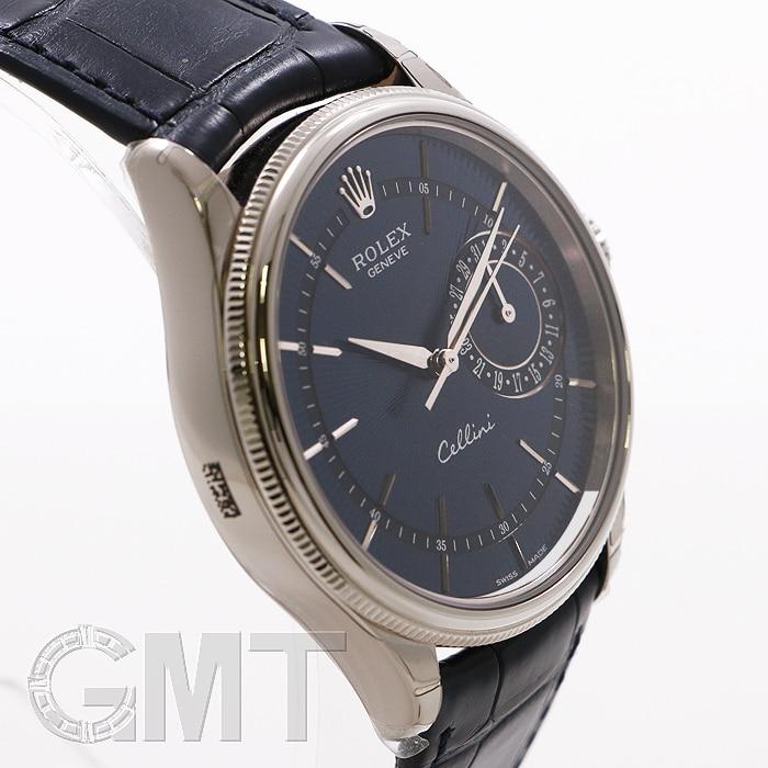 new style 66b35 232d0 ROLEX チェリーニ デイト 50519 ブルー | 時計専門店GMTのブログ