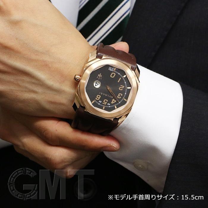 ブルガリ オクト マセラティ グランルッソ モノレトログレー BGOP41BGLR/MAS 10290