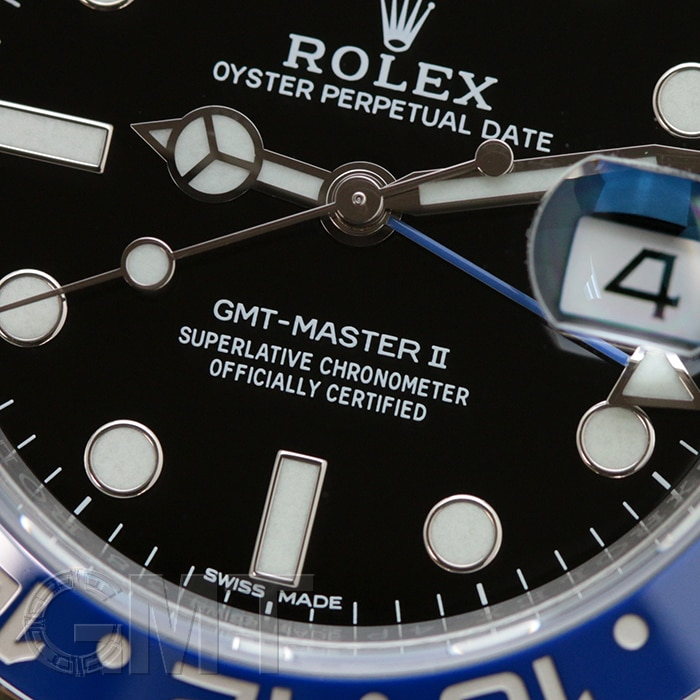ROLEX GMTマスターII 116710BLNR