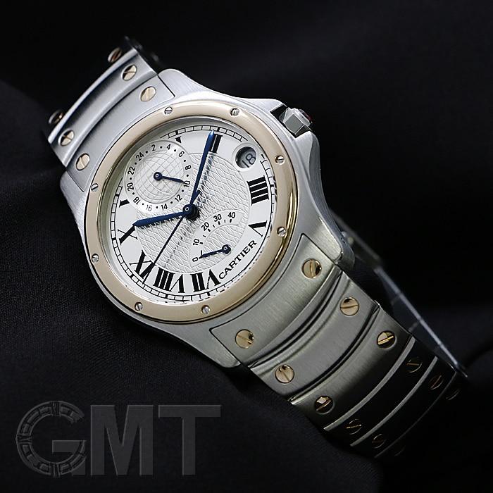 カルティエ サントスロンド GMT パワーリザーブ  W20038R3