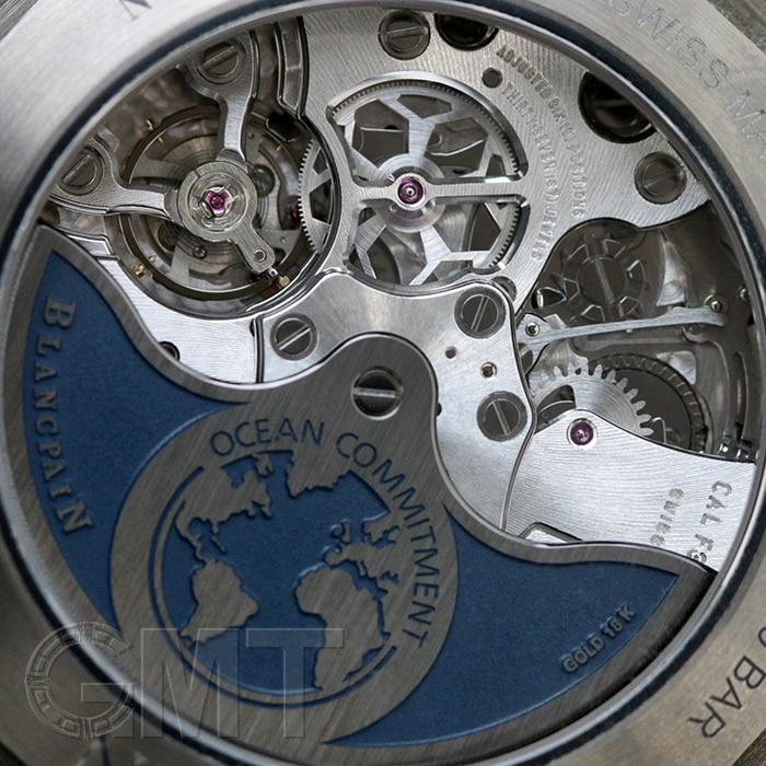ブランパン フィフティファゾムス バチスカーフ クロノグラフ フライバック オーシャンコミットメント 5200-0240-52A