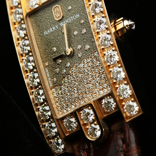 HARRY WINSTON ハリー・ウィンストン アベニュー レディー ダイヤモンド ドロップ AVEQHM21RR119