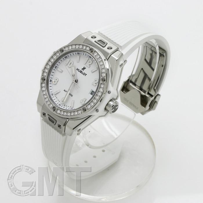 HUBLOT ウブロ ビッグバン ワンクリック スチールダイヤモンド ホワイト 465.SE.2010.RW.1204