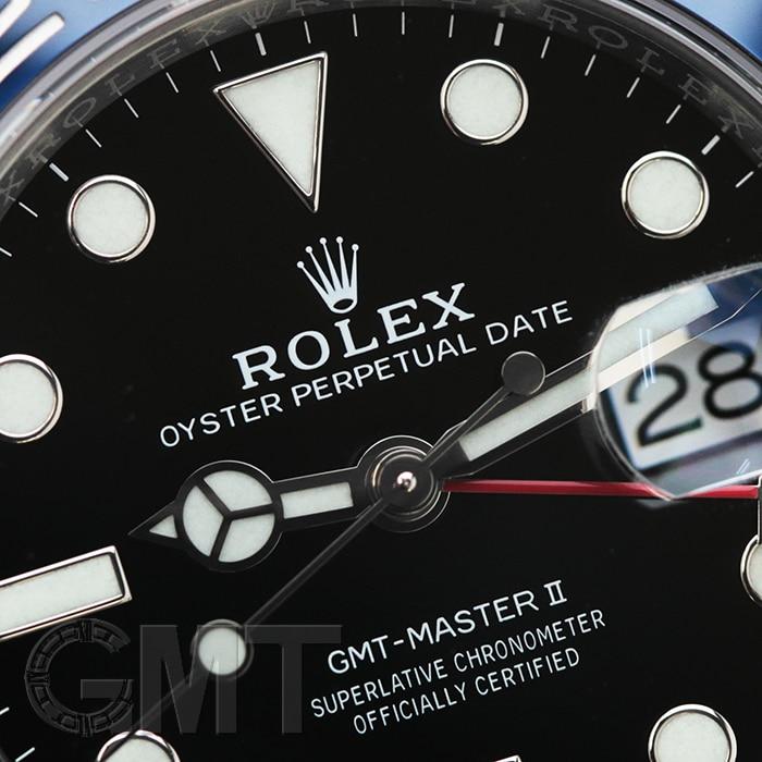 ROLEX GMTマスター II 126710BLRO